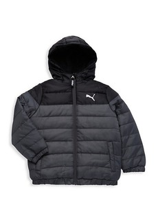 Puma Little Boy's Hooded Puffer Jacket