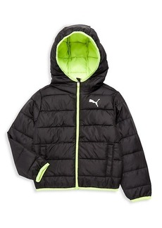 Puma Little Boy's Packable Puffer Jacket