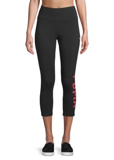Puma Logo Athletic Leggings