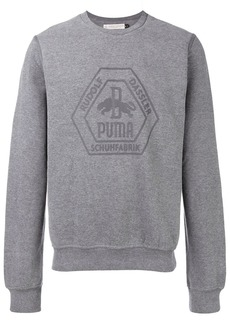 Puma logo crewneck sweatshirt