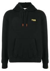 Puma logo drawstring hoodie