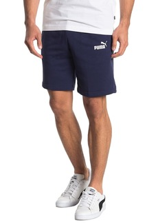Puma Logo French Terry Knit Shorts