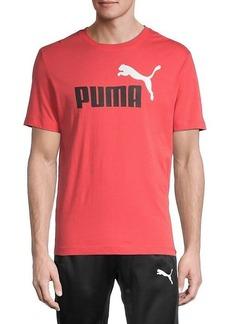 Puma Logo Graphic Short Sleeve T-Shirt