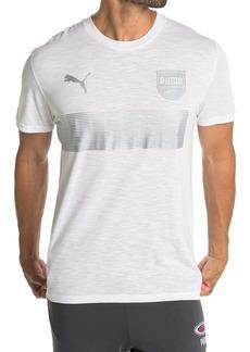 Puma Logo Graphic Slub T-Shirt