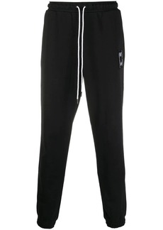 Puma logo-patch tapered track pants