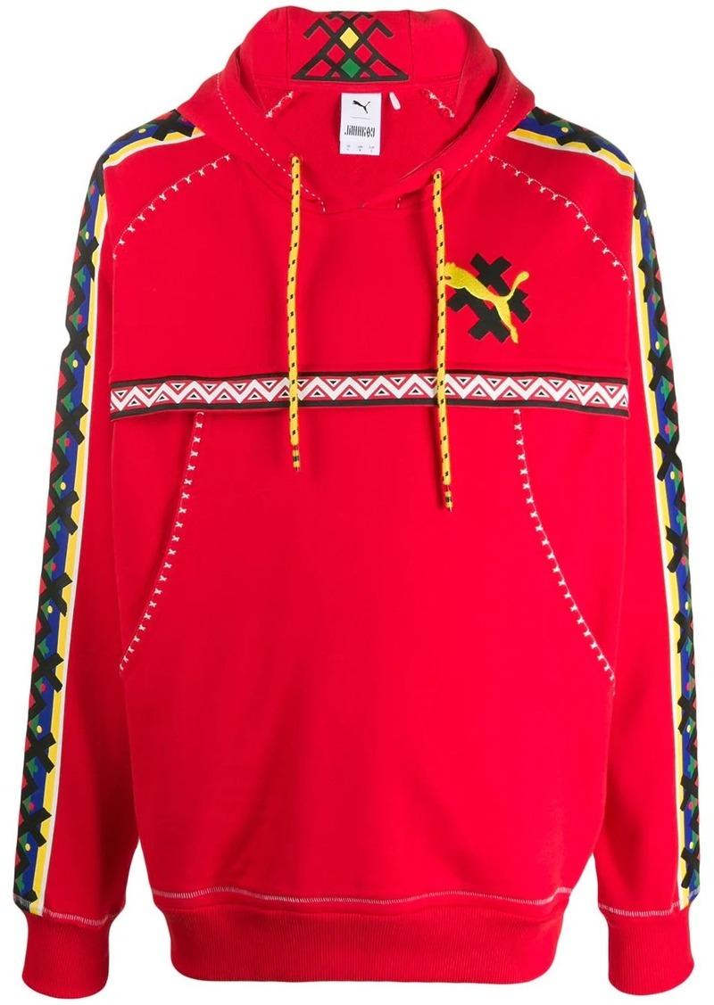 Puma logo print hoodie