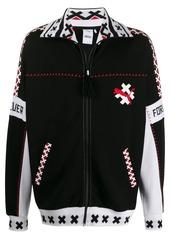 Puma logo print jacket