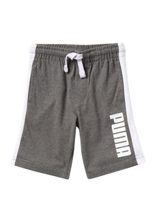 Puma Logo Print Shorts (Little Boys)