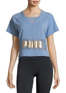 Puma Logo Print Top