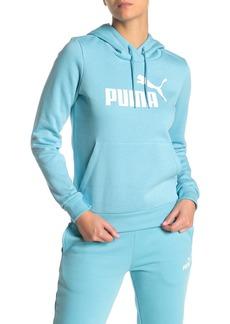 Puma Logo Pullover Hoodie