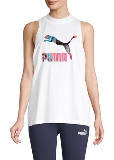 Puma Logo Stretch Tank Top
