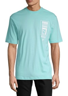Puma Logo Tower Cotton Tee
