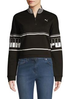Puma Logo Turtleneck Sweatshirt