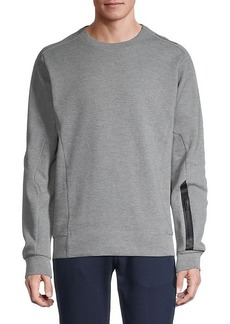 Puma Long-Sleeve Cotton Sweatshirt