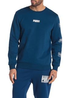 Puma Long Sleeve Crew Neck T-Shirt