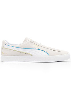 Puma low-top lace-up trainers