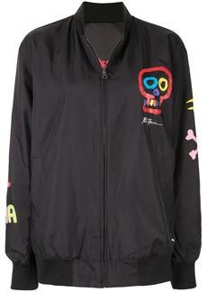 Puma graphic bomber jacket
