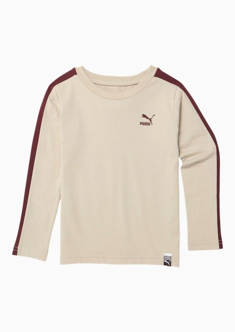 Puma Luxe Pack Toddler T7 Long Sleeve Tee