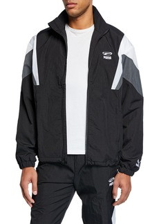 Puma Men's 90s Retro Colorblock Track Jacket