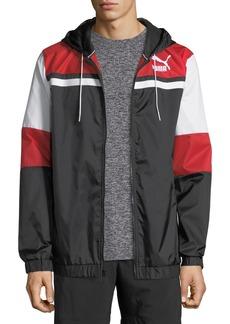 Puma Men's Archive Logo Wind-Resistant Jacket