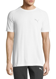 Puma Men's Best Evoknit Tee  White