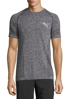 Puma Men's Best Heathered Evoknit Tee