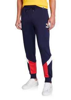 Puma Men's Iconic MCS Contrast Panel Track Pants