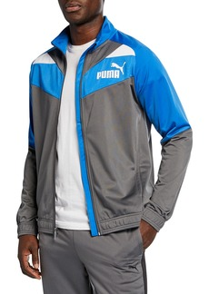 Puma Men's Iconic Tricot Colorblock Jacket