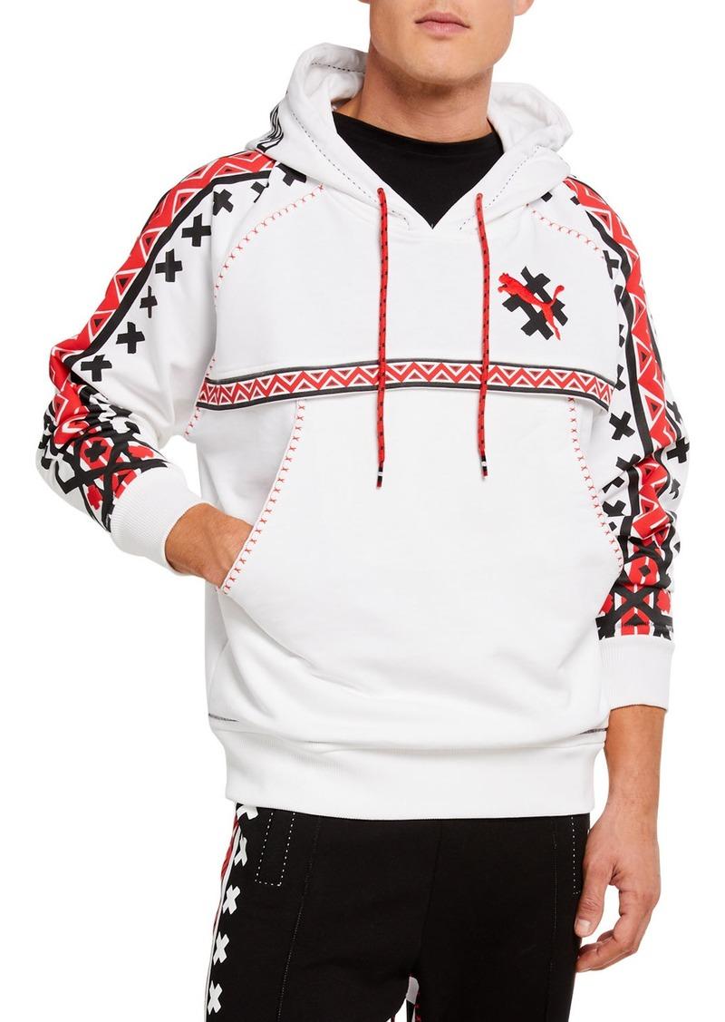 Puma Men's Jahnkoy Organic French Terry Hoodie Sweatshirt