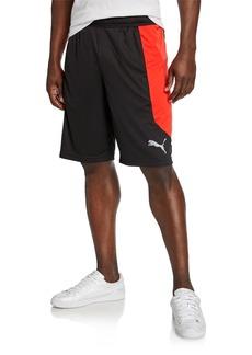 Puma Men's Knit Colorblock Shorts