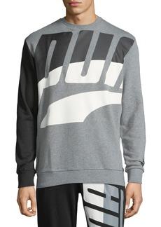 Puma Men's Loud Pack Graphic Sweatshirt