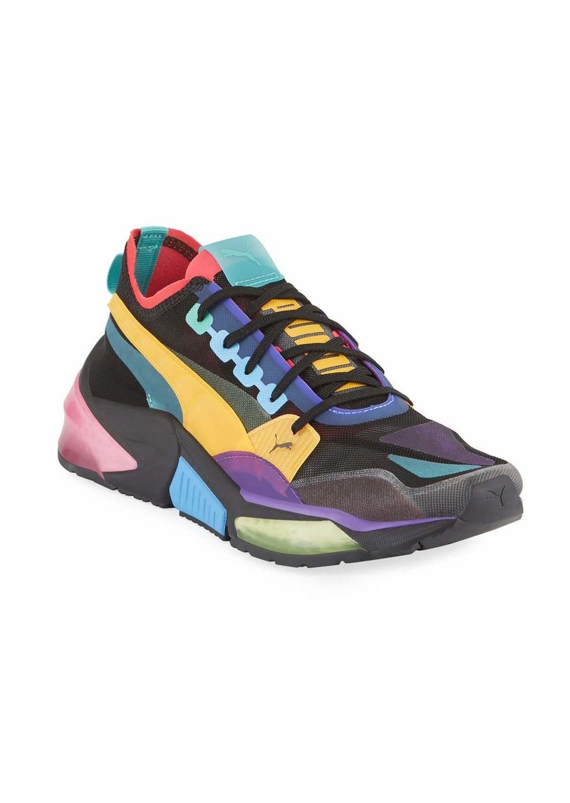 Puma Men's LQDCELL Optic Sheer Colorblock Running Sneakers