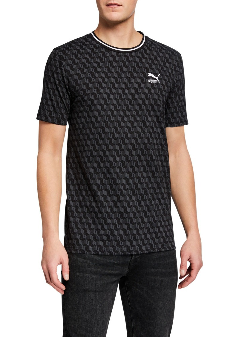 Puma Men's Luxe Pack Crewneck T-Shirt