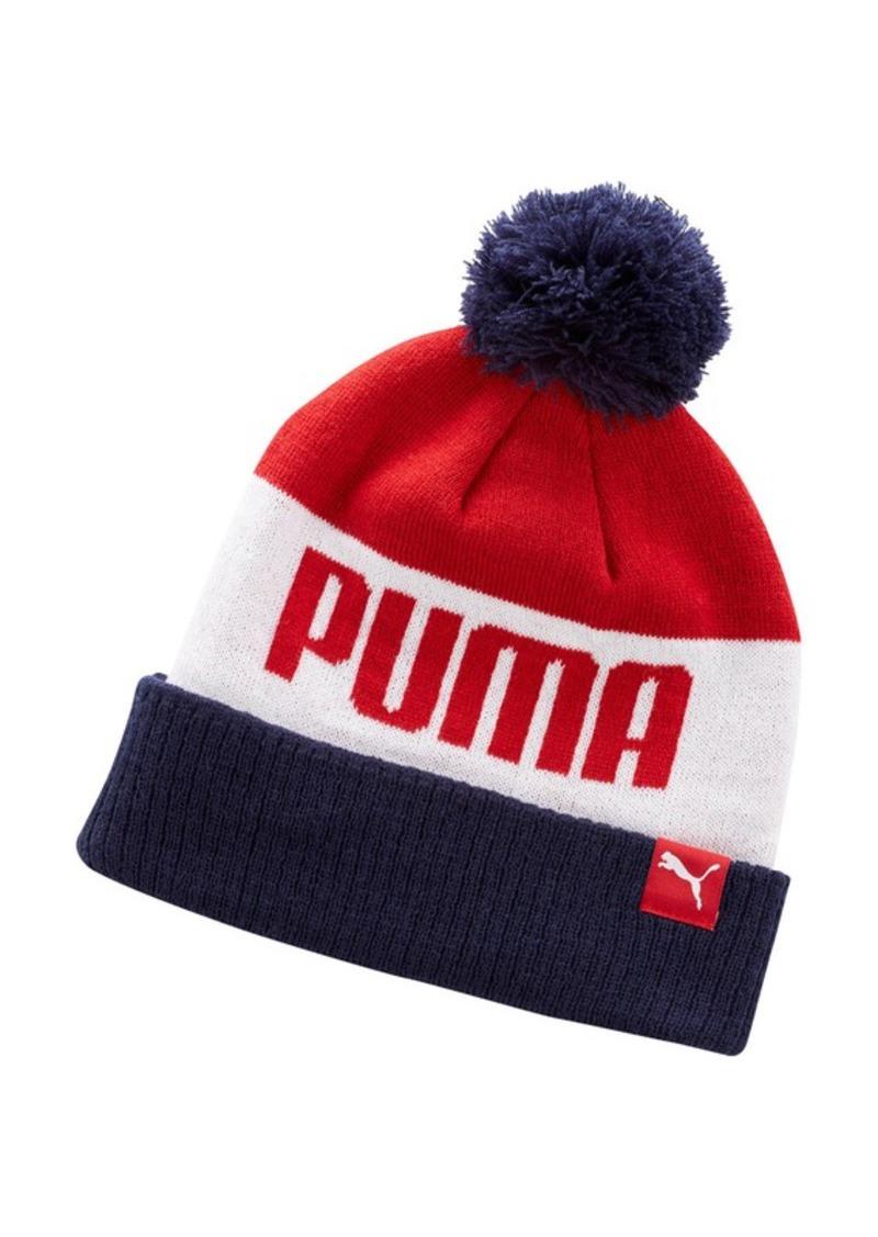 Puma Men s Momentum Pom Beanie  b671c8739d6