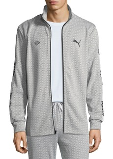 Men's Puma X Diamond Track Jacket  White