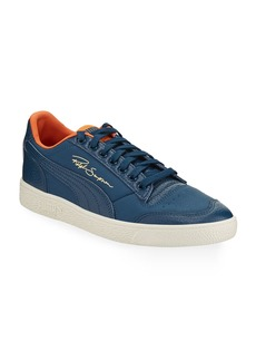 Puma Men's Ralph Sampson Lo Virginia Leather Low-Top Sneakers