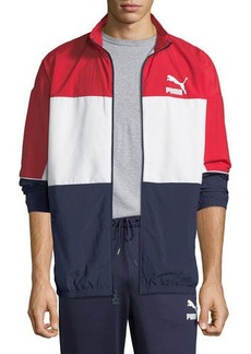 Puma Men's Retro Woven Track Jacket