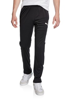 Puma Men's Speed Side Panel Zipper Pants  Black