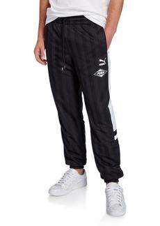 Puma Men's Striped Track Pants