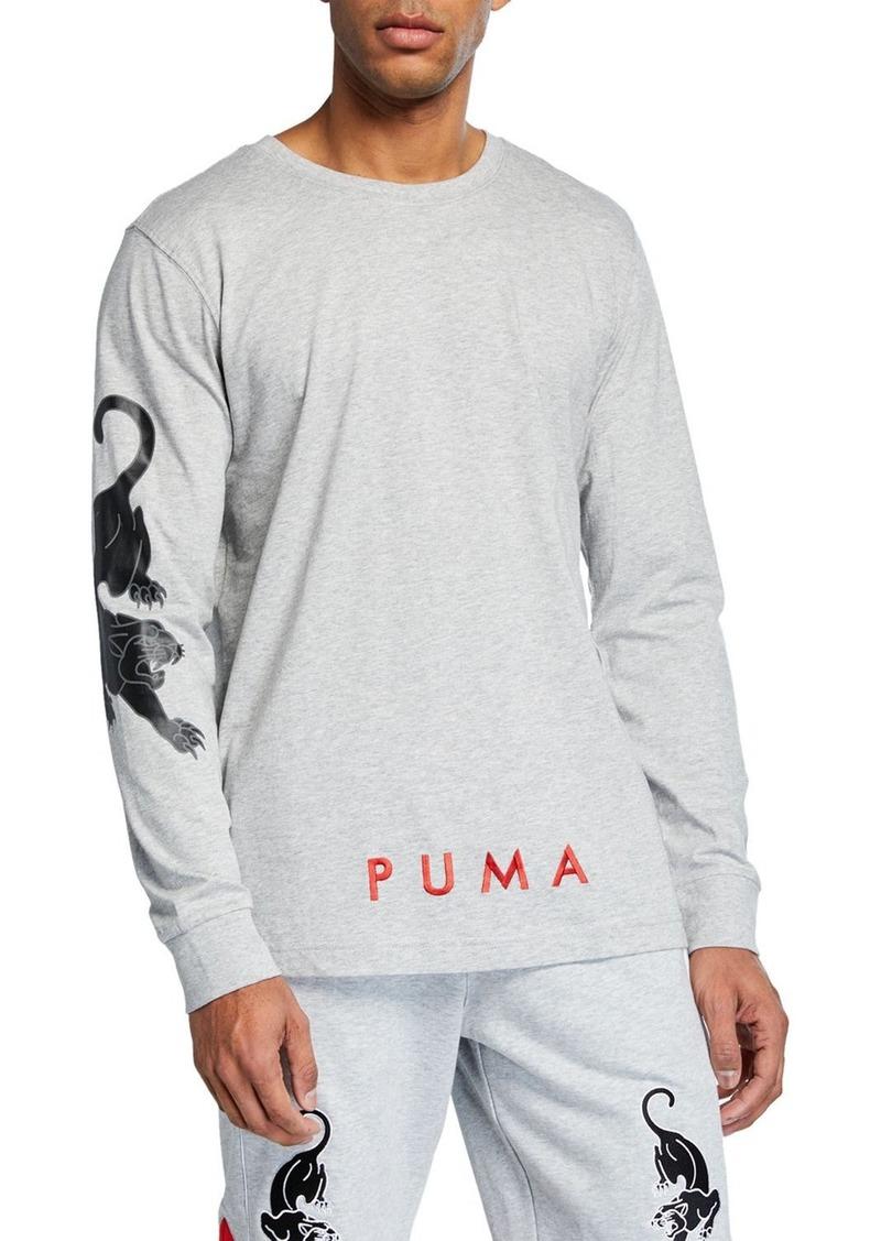 a0b4a3e0 Men's Stryk Graphic Long-Sleeve T-Shirt