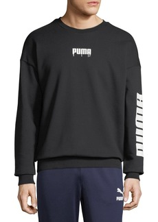 Puma Men's Super Logo Graphic Sweatshirt