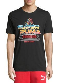 Puma Men's Super Play Logo Graphic T-Shirt