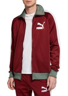 Puma Men's Two-Tone Vintage Track Jacket