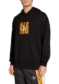 Puma Men's Wild Pack Animal-Print Hoodie