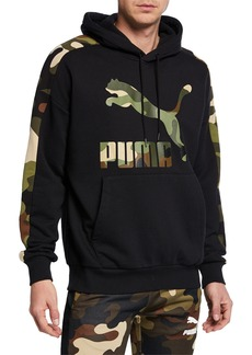 Puma Men's Wild Pack Camo Pullover Hoodie