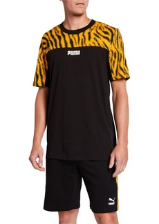 Puma Men's Wild Pack Short-Sleeve Logo T-Shirt