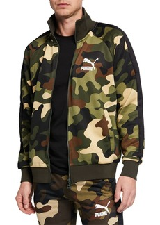 Puma Men's Wild Pack T7 Camo Track Jacket