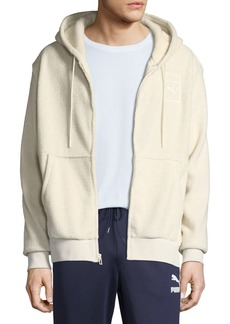 Men's Puma x Big Sean Fleece Zip-Front Hoodie