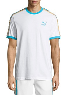 Puma Men's x Coogi Archive Contrast-Trim  T-Shirt