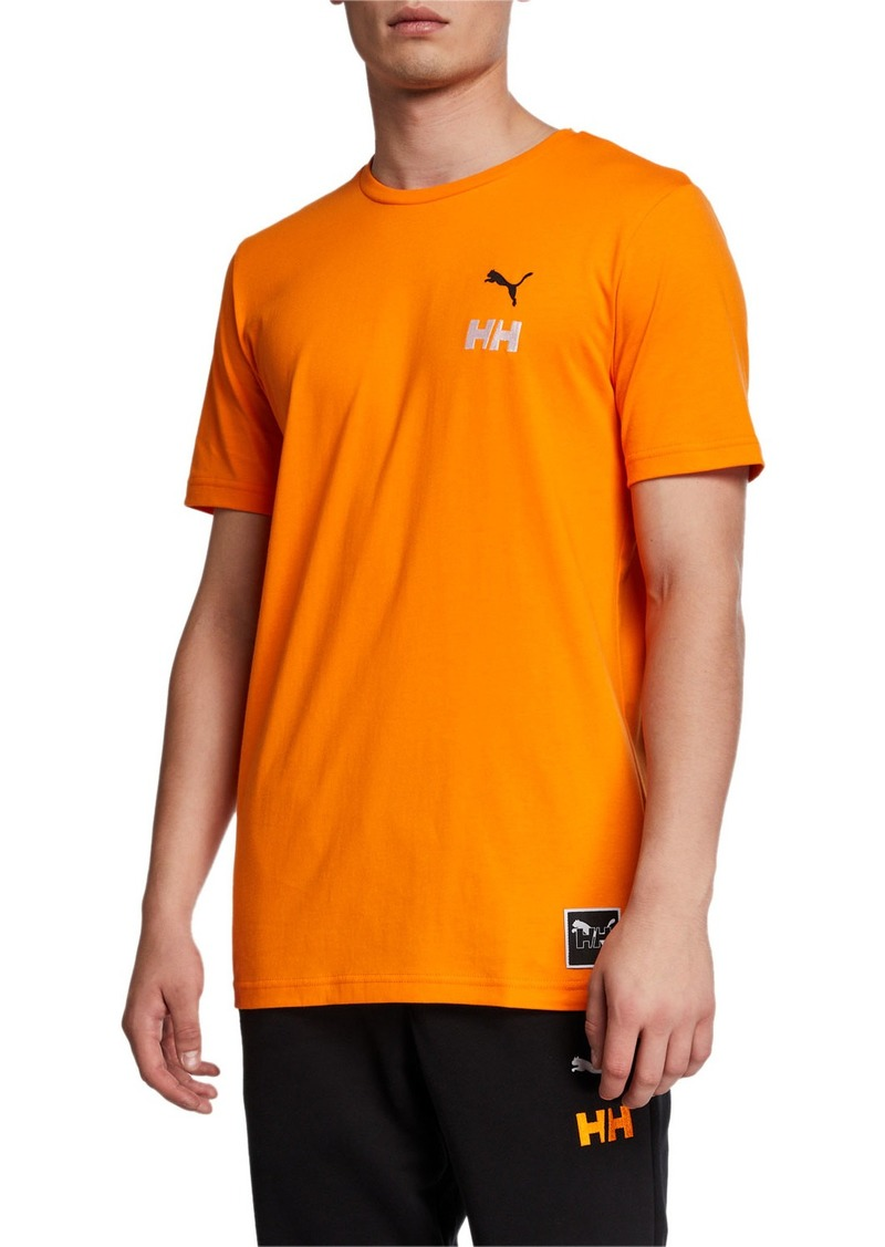 Puma Men's x Helly Hansen Logo T-Shirt